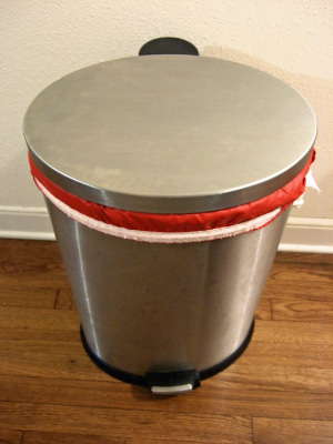 diaper pail with liner